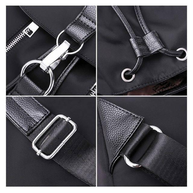 Women's Fashion Large Capacity Nylon Backpack
