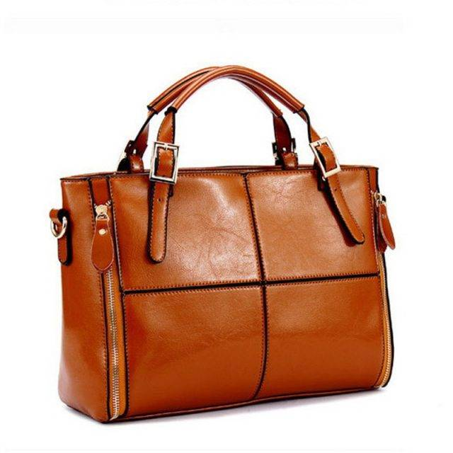 Women's Classic Leather Briefcase