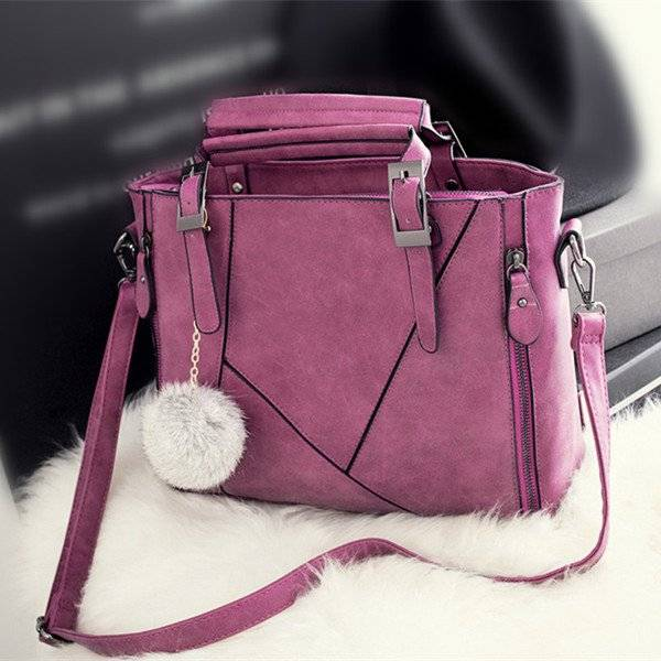Fashion Casual Shoulder Bag with Tassel