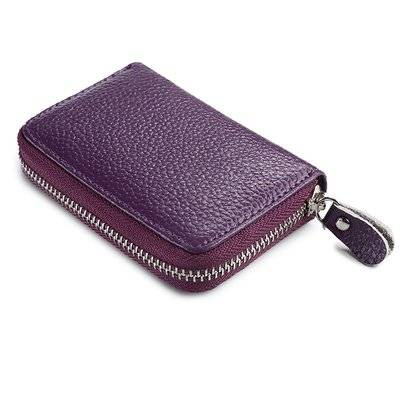 Elegant Colorful Patent Leather Women's Coin Purse