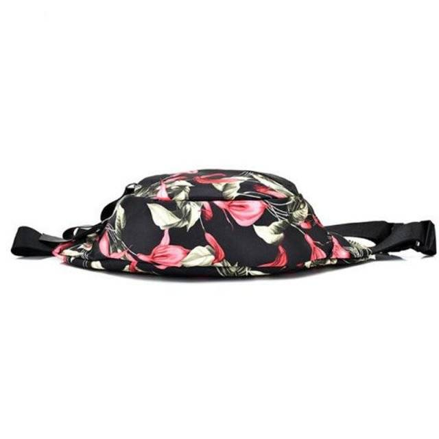 Women's Floral Printed Waist Pack