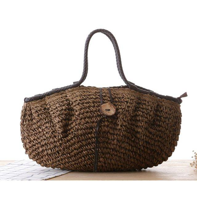 Creative Design Boho Style Straw Women's Handbag