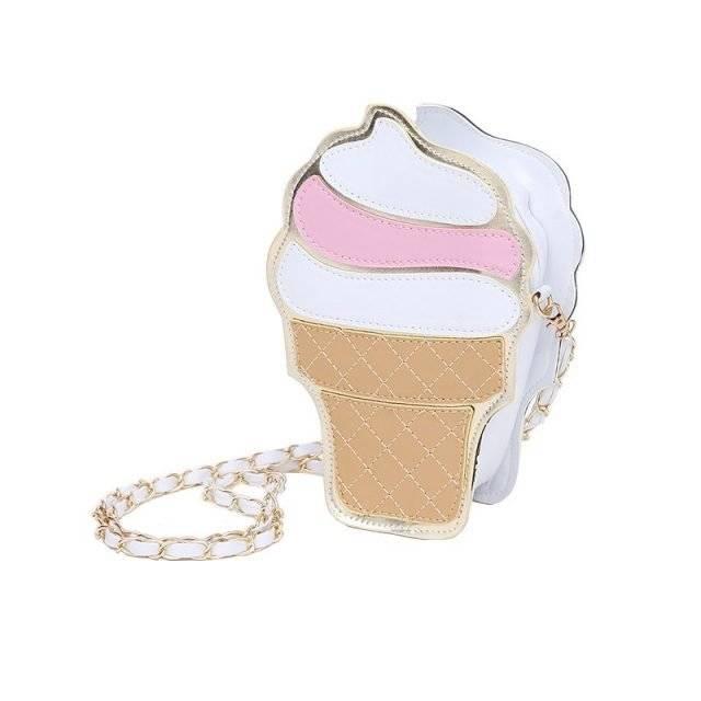 Cute Mini Ice Cream Women's Crossbody Bag