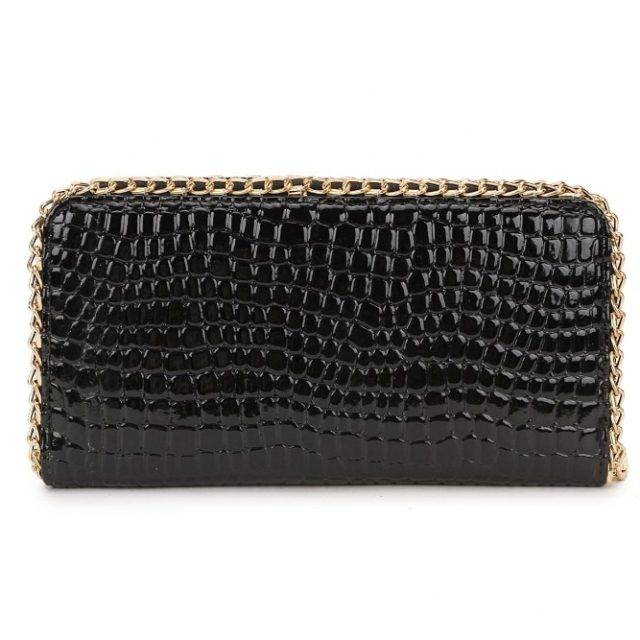 Women's Fashion Crystal Embelished Wallet
