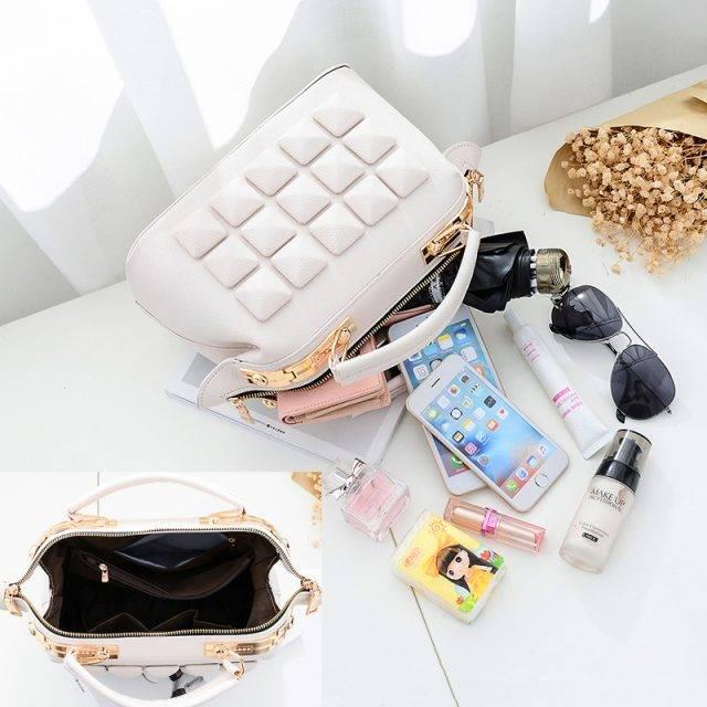 Stylish Women's PU Leather Shoulder Bag