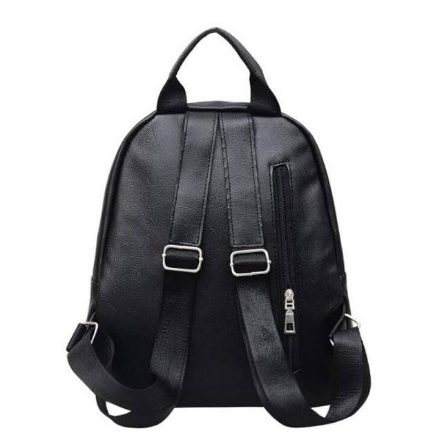 Women's Fashion Solid Color Backpack