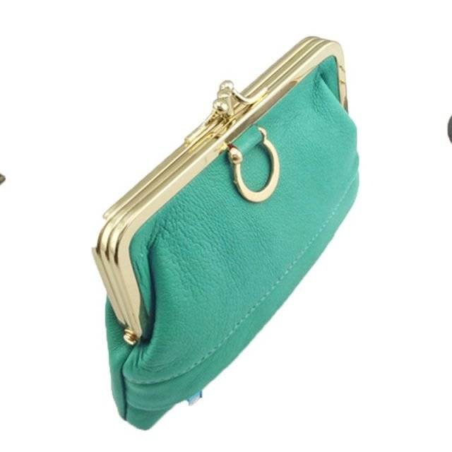 Elegant Genuine Leather Coin Purse for Women