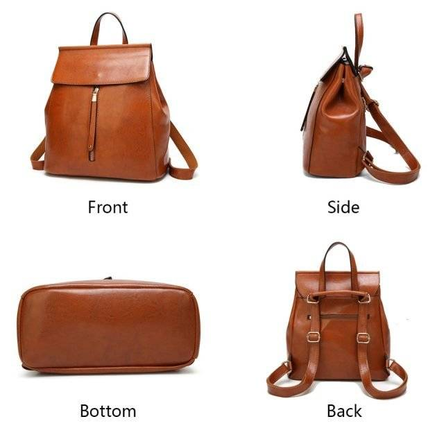 Women's Vintage Large Capacity Backpack