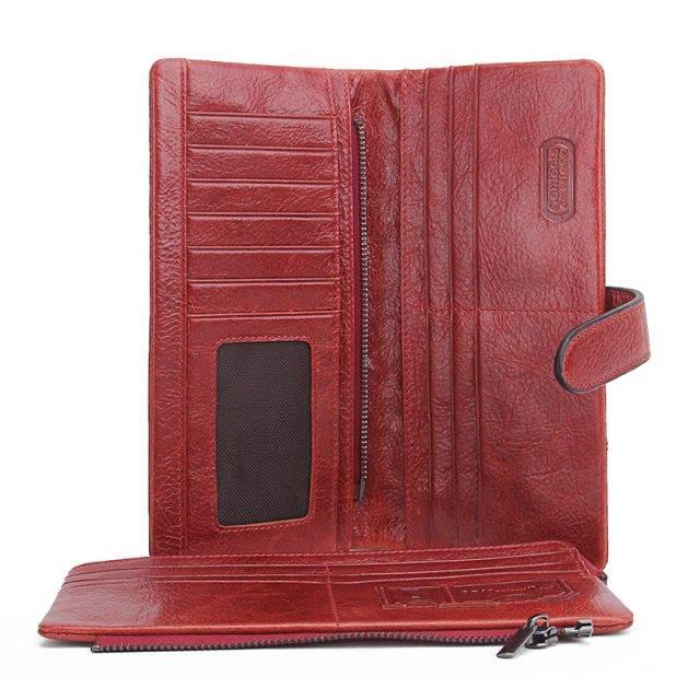 Fashion Long Leather Women's Wallet
