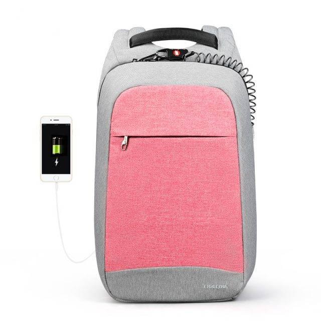 Anti Theft Fashion Design Women's Laptop Backpack