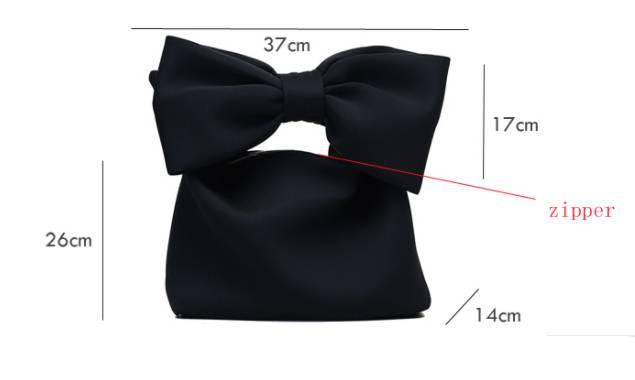 Elegant Bow Clutch
