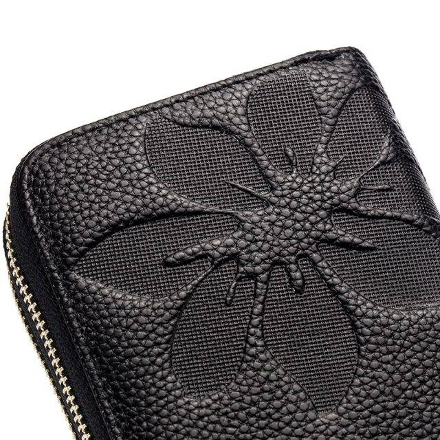 Genuine Leather Floral Women's Wallet