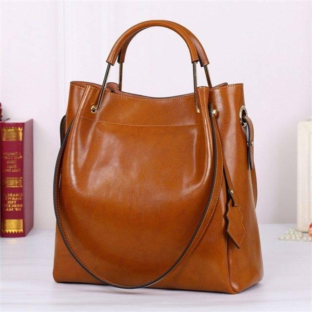 Casual Leather Handbag for Women