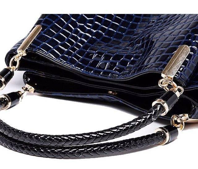 Ladies' Luxury Leather Tote Handbag