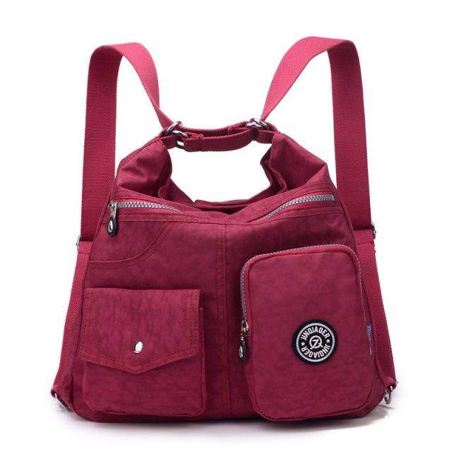 High Quality Multifunctional Nylon Women's Shoulder Bag