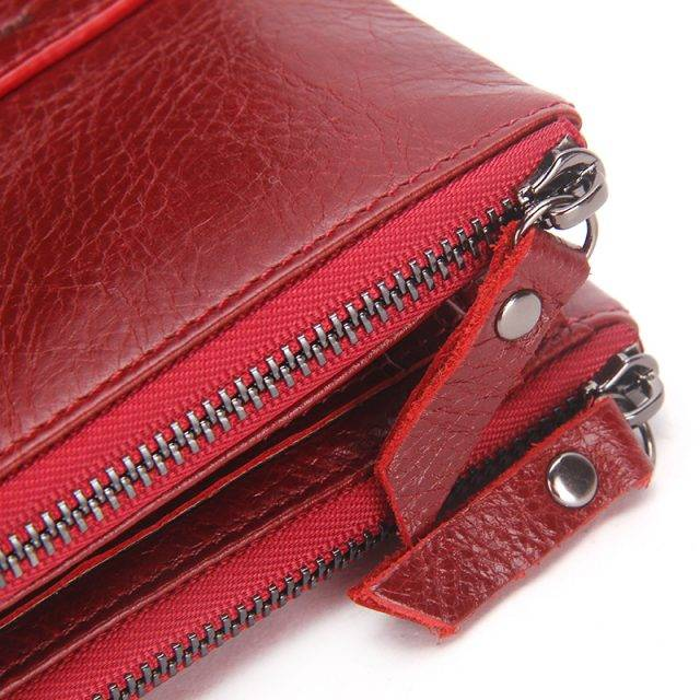 Stylish Compact Genuine Leather Women's Wallet