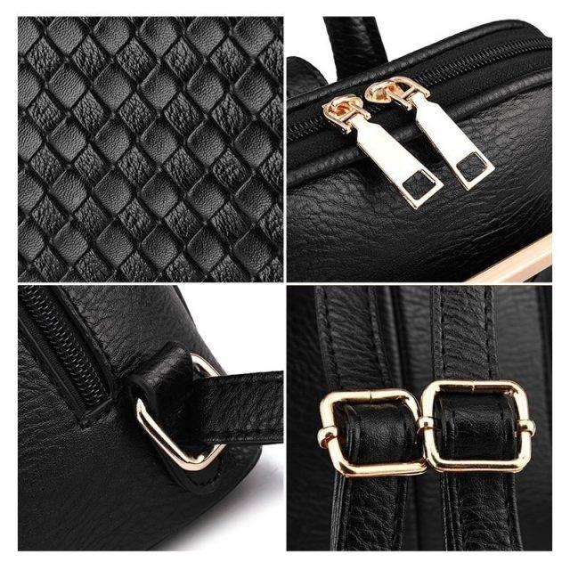 Women's Elegant Minimalistic Style Backpack