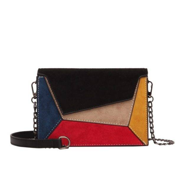 Women's Geometric Shoulder Bag
