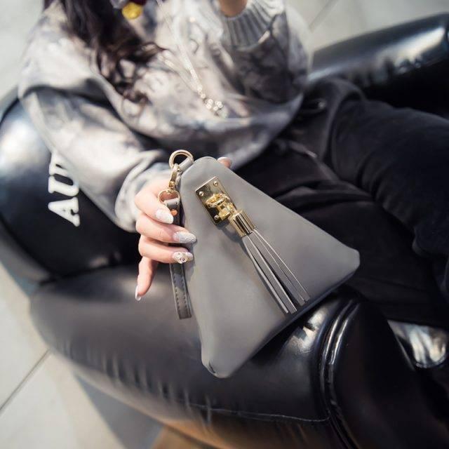 Ladies Triangle Cosmetic Bag