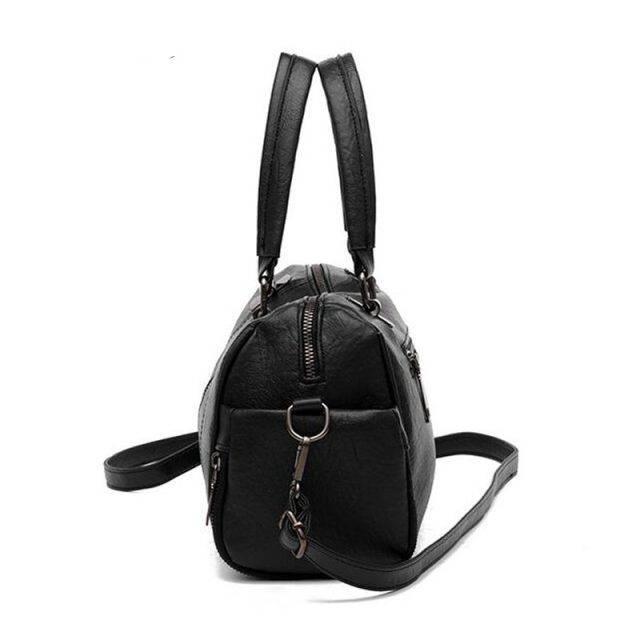 Women's Classic Shoulder Bag with Zipper