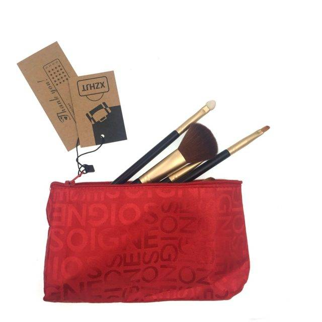 Fashion Letter Design Cosmetic Bags