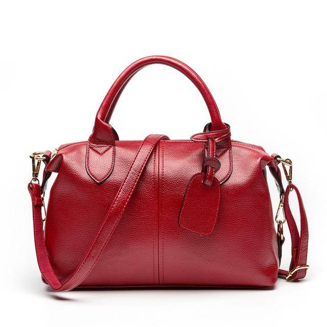 Women's Soft Leather Top-Handle Bag