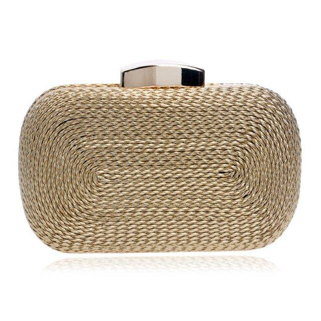 Women's Straw Clutch