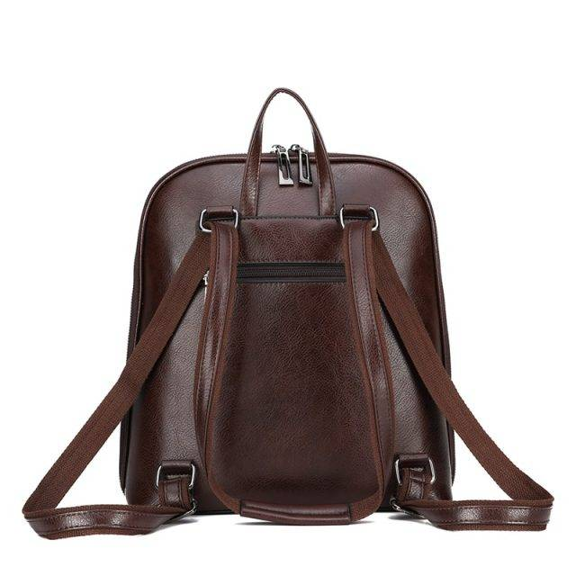 Stylish Leather Backpack for Women
