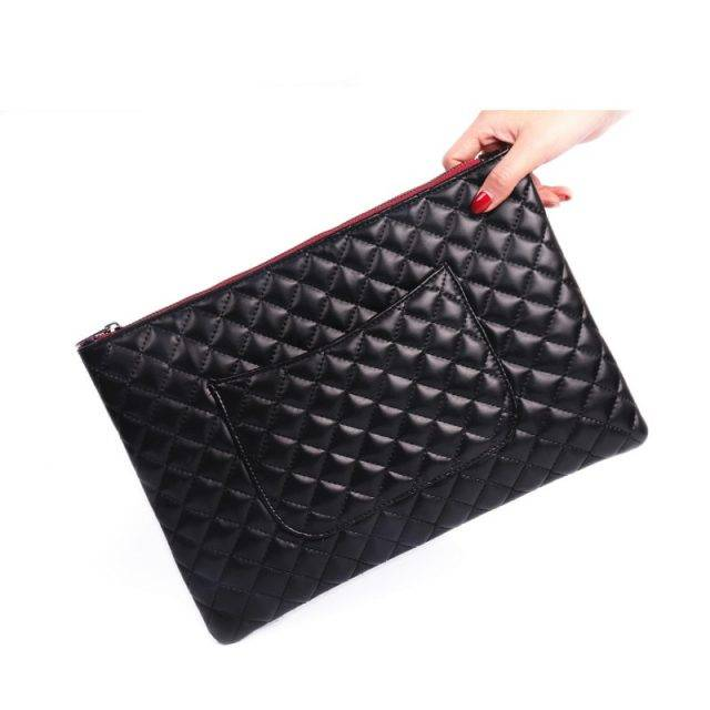 Fashion Casual Patterned Leather Clutch Bag