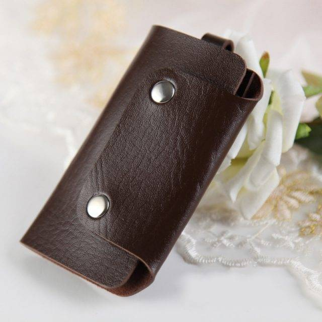 Unisex Leather Key Case