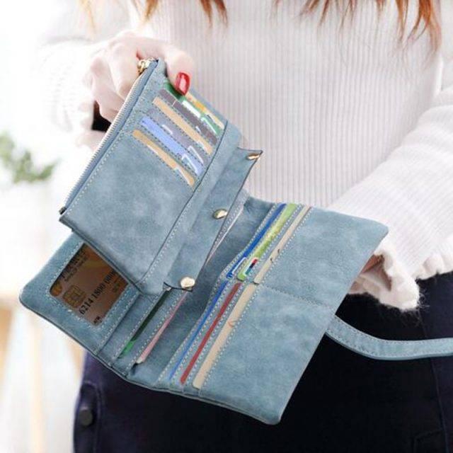 Ladies Long Wide Wallet