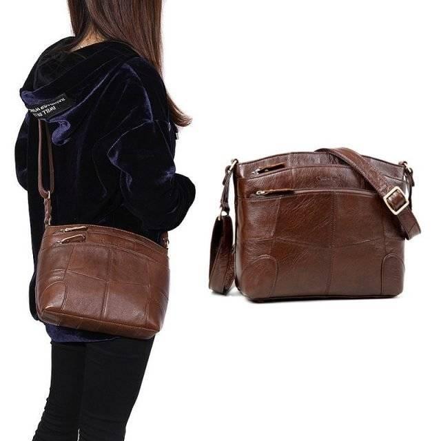 Women's Large Capacity Leather Shoulder Bag