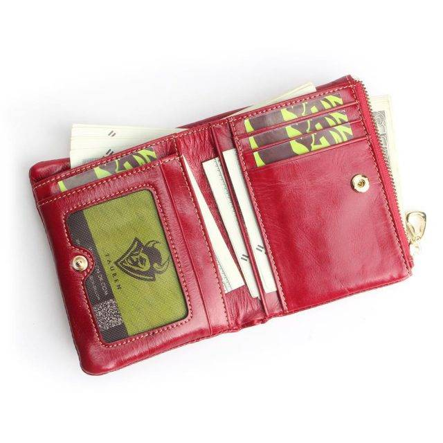 Women's Mini Genuine Leather Wallet
