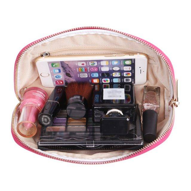 Colorful Patent Leather Cosmetic Bag