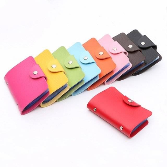 Colorful Credit Cards Holder