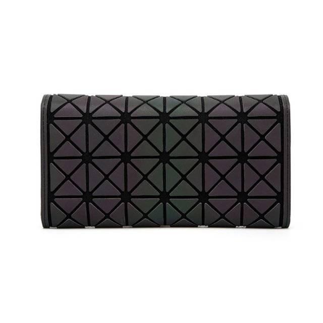 Women's Geometry Pattern Luminous Wallets