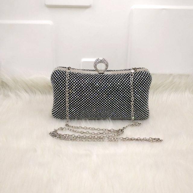 Rhinestone Vintage Evening Bags for Women