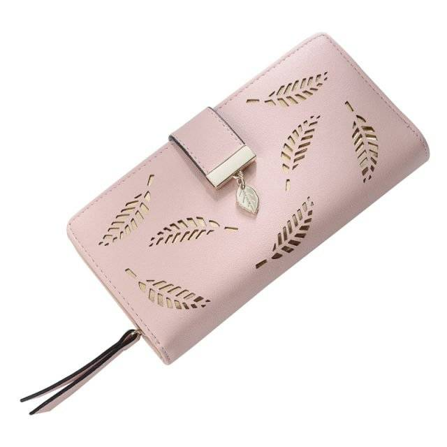 Women's Leather Card Holder Purse
