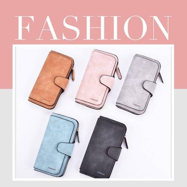 Casual Colorful Women's PU Leather Wallet