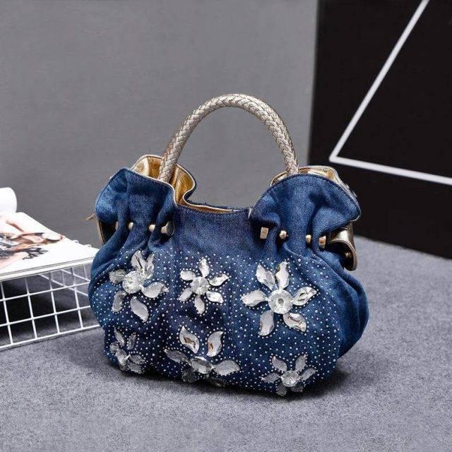 Women's Denim Vintage Shoulder Bags