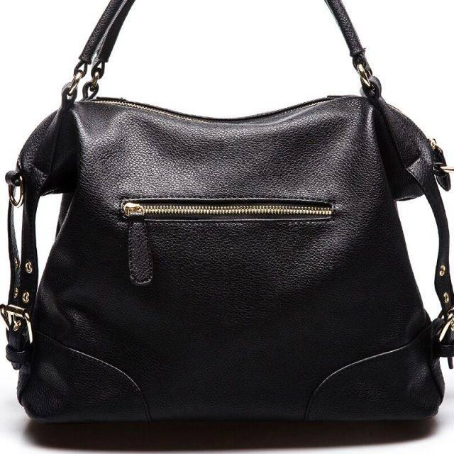 Women's Soft Leather Hobo Handbag