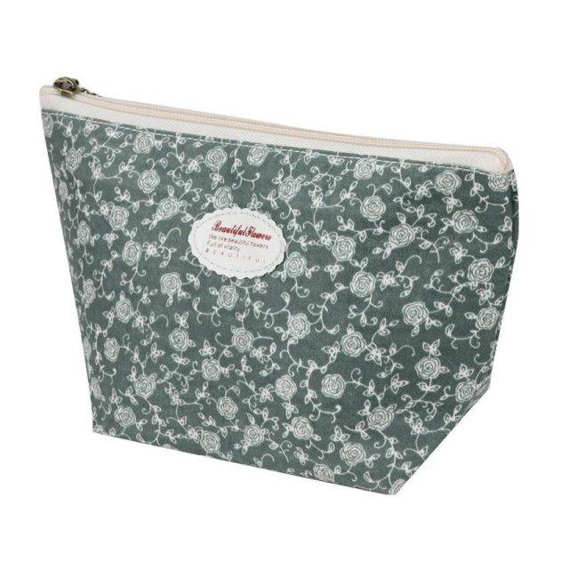 Portable Cotton Cosmetic Bags