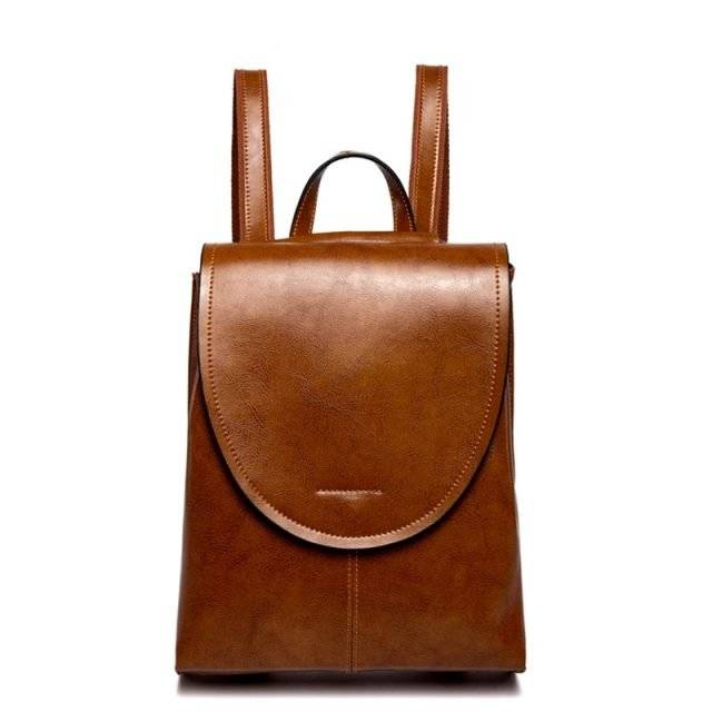 Vintage Women's Genuine Leather Backpack